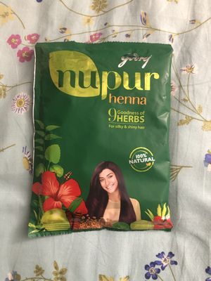 Nupur Henna 100% Natural - herbal hair product for Sale in Tempe, AZ