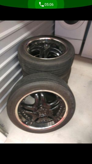 Rims and tires for Sale in Pompano Beach, FL