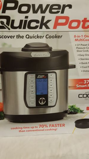 Power quick pot 6 qt pressed cooker slow cooker for Sale in GLMN HOT SPGS, CA