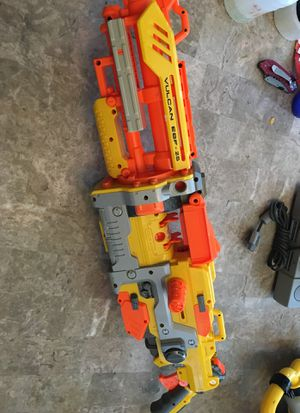 Nerf Vulcan ebf 25 gun only for Sale in Streamwood, IL
