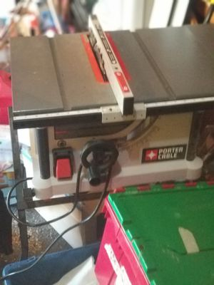 Porter Cable Table Saw for Sale in Bremerton, WA
