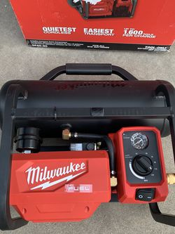 Milwaukee M18 FU EL 18-Volt Lithium-Ion Brushless Cordless 2 Gal. Electric Compact Quiet Compressor (Tool-Only) for Sale in South Gate,  CA