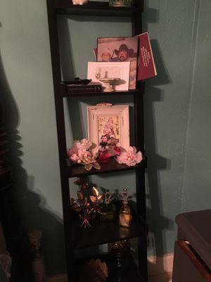 Black ladder shelf for Sale in Fort Worth, TX