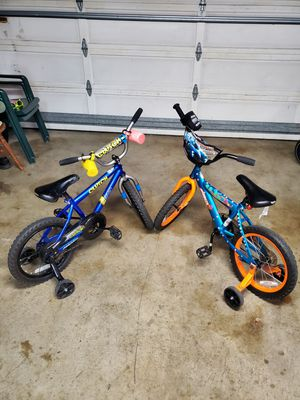 """16"""" bicycles 2 for $25. for Sale in San Leandro, CA"""
