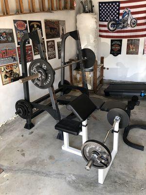 Weights/Bench set for Sale in Virginia Beach, VA