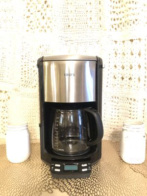 Krups 12 Cup Programmable Coffee Maker for Sale in Dobson, NC