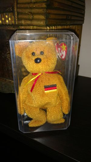 Ty Beanie Bear original minted Germania for Sale in Manassas, VA