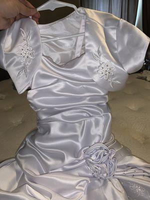 Flower girl dress /baptism dress for Sale in Baytown, TX
