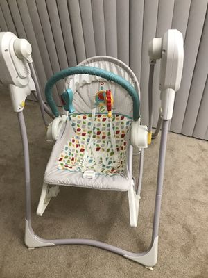 Fisher Price 3 in 1 swing rocker for Sale in Columbia, MD