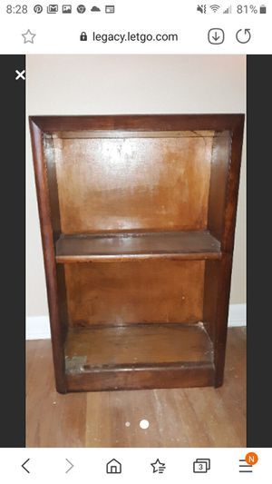 Nightstand- small 2 shelf cabinet. for Sale in Strongsville, OH