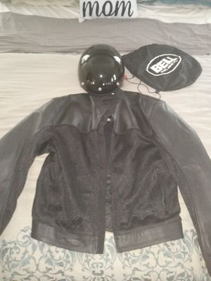 Motorcycle jacket size XL/DOT Helmet for Sale in North Port, FL