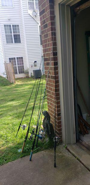 fishing poles for Sale in Herndon, VA