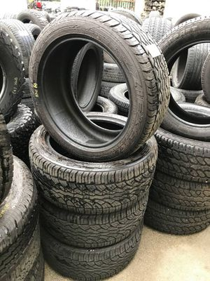 "Set of P275/45R20 Falken Ziex S/TZ04 20"" Tires Stock #8741 for Sale in Everett, WA"