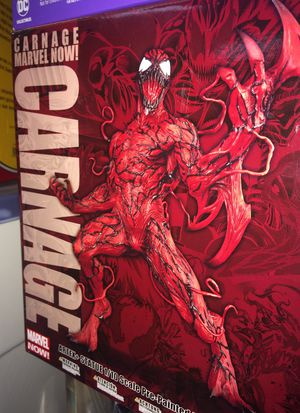 Carnage marvel now statue by Kotobukiya New in package $50 for Sale in Bartlett, IL