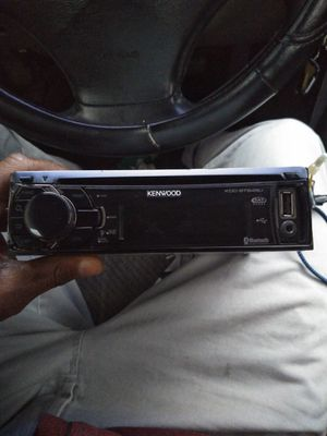 Kenwood Bluetooth, USB and Auxiliary Car Stereo. for Sale in Nashville, TN