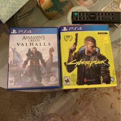 Cyberpunk 2077 And Assassins Creed Valhalla for Sale in Fairfax,  VA