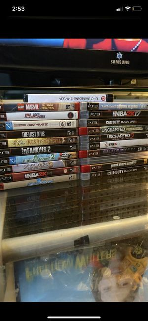 Ps3 games for Sale in Culver City, CA