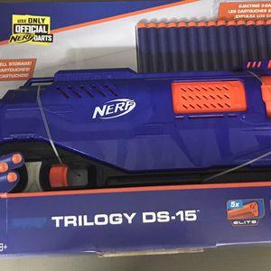 Nerf E2853 N-Strike Elite Trilogy DS-15 Dart Blaster for Sale in Tampa, FL