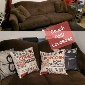 Raymour and flannigan couch AND Loveseat ( no pillows) for Sale in Hamburg, NY