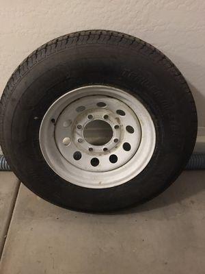Trail master Travel trailer/5th w tire & wheel for Sale in Phoenix, AZ