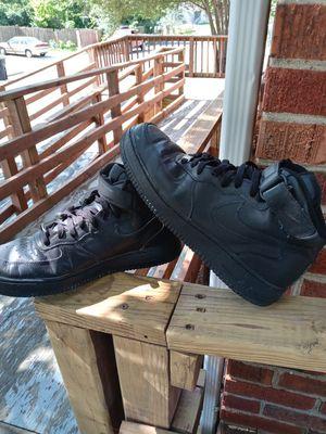 Mens sz 11.5 black nike AF1 for Sale in Fulton, MO