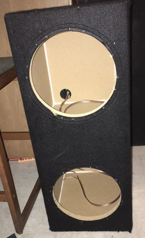 2 10s subwoofer box only!!! for Sale in El Cajon, CA