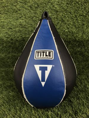 "Title Boxing Quik-Tek Super Speed Bag | Medium (7"" x 10"") for Sale in Chula Vista, CA"