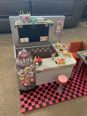 Cafe Set for American Girl Doll for Sale in Corona, CA