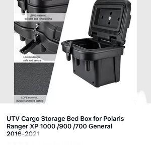 UTV Cargo Storage Bed Box for Polaris Ranger XP 1000 /900 /700 General 2016-2021 for Sale in Stockton, CA