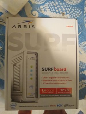 Arris sb6190 modem for Sale in Troy, NY