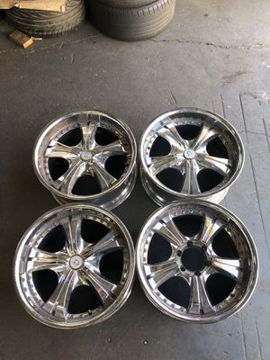 20 inch wheels 4 wheels missing 1 center cap 6x139 for Sale in Los Angeles, CA