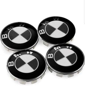 4PCS Genuine BMW Emblem Logo Badge Hub Wheel Rim Center Cap 68mm prt 36136783536 for Sale in Indianapolis, IN