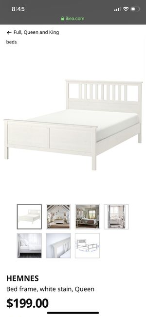 IKEA bed frame (Queen) for Sale in Issaquah, WA