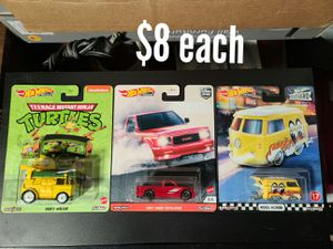 Hotwheels price on pcs for Sale in Arlington, TX
