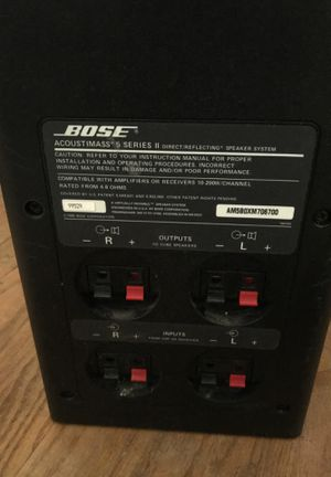 Bose Acoustimass 5 Series ll Speaker System for Sale in Seattle, WA