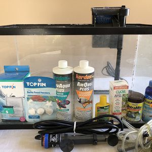 COMPLETE Fish tank for you!!! for Sale in Walnut, CA