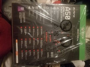 Astro A50 (xbox and PC compatable) for Sale in Fullerton, CA