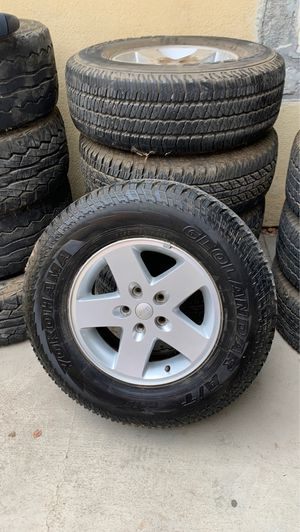 Factory 2015 Jeep wheels &tires for Sale in Jurupa Valley, CA