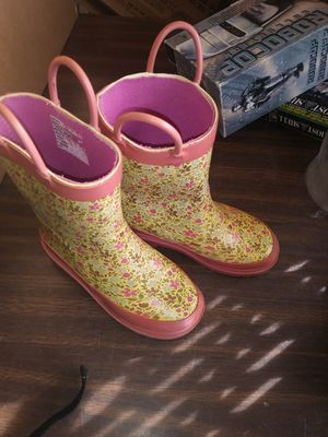 Girls rain boots for Sale in Lancaster, CA