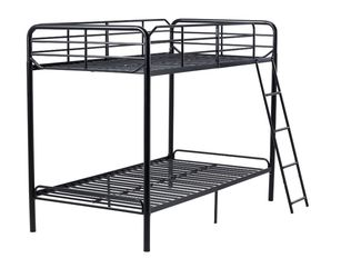 Twin Metal Frame Bunk Bed with Ladder, Black . Still In Box . for Sale in Alpharetta,  GA