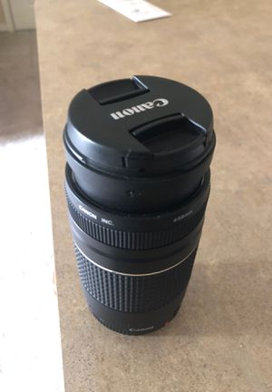 Canon Zoom Lens EF 75-300mm 1:4-56 III for Sale in Chester, VA