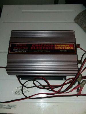 4000 watt power inverter for Sale in Riverside, CA