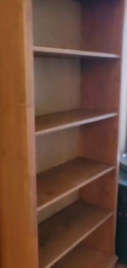2 Gorgeous Wood Shelves In Excellent Condition for Sale in Los Angeles,  CA