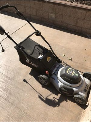 Used Electric Lawnmower/Blower Weed Whacker for Sale in San Bernardino, CA
