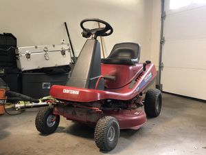 Craftsman ride on mower for Sale in Framingham, MA
