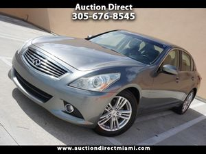 2011 INFINITI G37 Sedan for Sale in Miami, FL