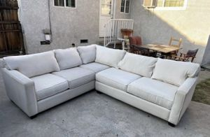 White sectional couch/sofa for Sale in Alhambra, CA