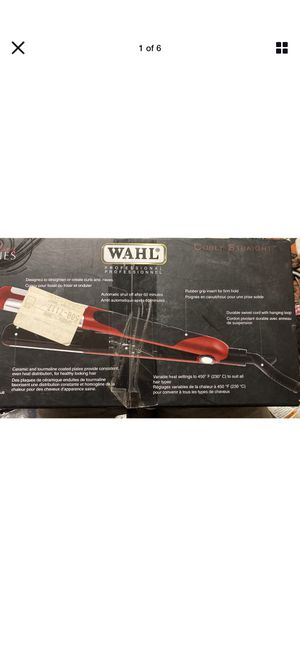 NEW - WAHL Styling Series- Hair Straightener Curling Iron Flat Iron for Sale in Sunnyvale, CA