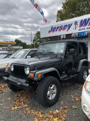 2003 Jeep Wrangler for Sale in Howell Township, NJ