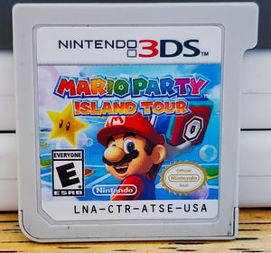 Mario Party Island tour for the 3ds for Sale in Fresno, CA